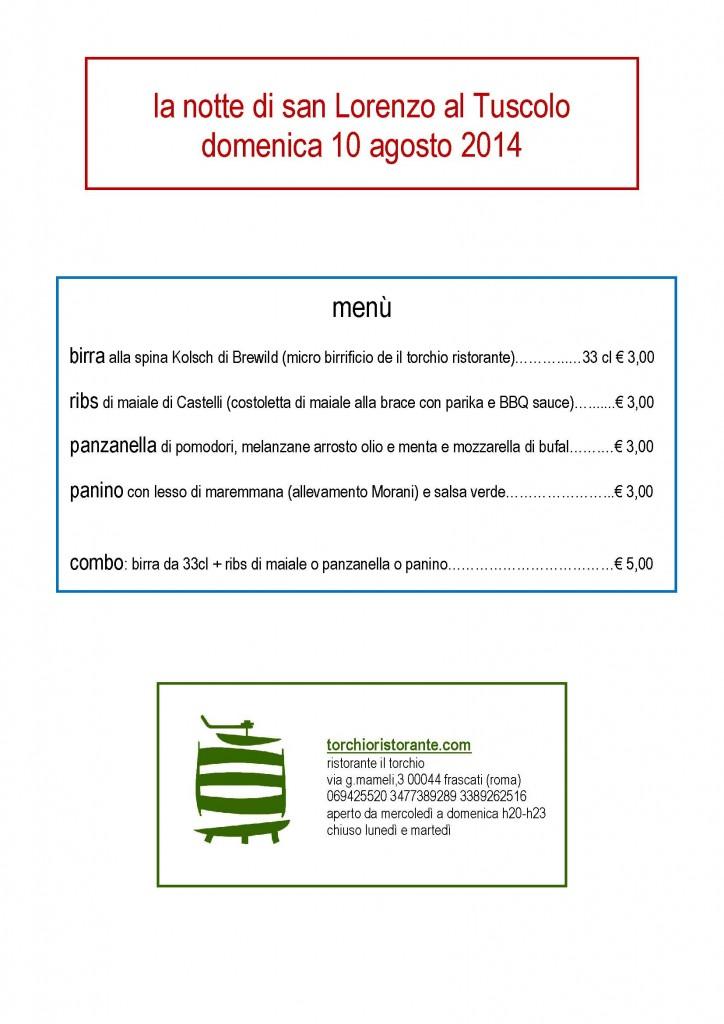 2014 08 san lorenzo menù